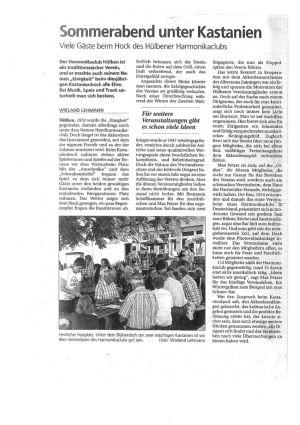 2012 Kirbe Bericht